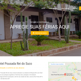 Site: Hotel Pousada Rei do Suco